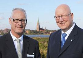 Kundenstatement zur Unternehmensentwicklung der GEWOBA Nord Baugenossenschaft eG, Hr. Dietmar Jonscher, Hr. Steffan Liebscher, Vorstand